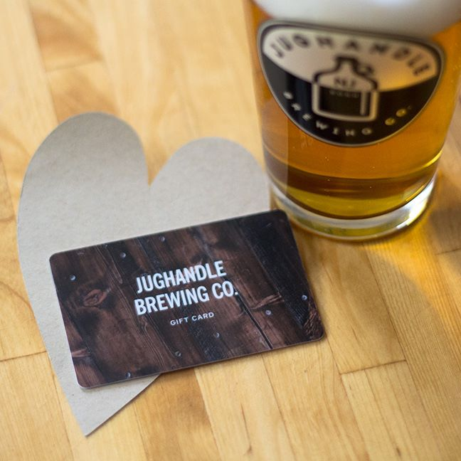 Jughandle Brewing Co Valentines Day Promo Gift Cards Jughandle